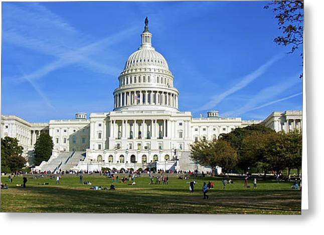 A Capitol View Greeting Card