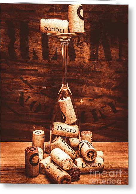 A Cellar Performance Greeting Card by Jorgo Photography - Wall Art Gallery