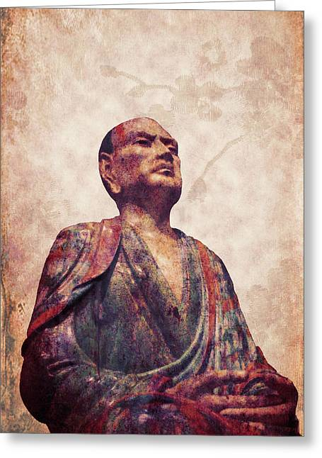 Buddha 5 Greeting Card