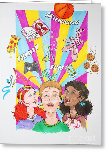 A Child's World Greeting Card