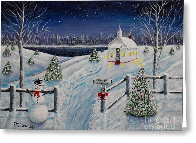 A Christmas Eve Greeting Card