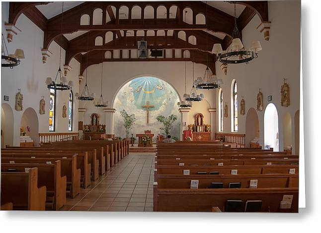 Greeting Card featuring the photograph A Church Is Really Never Empty by Monte Stevens