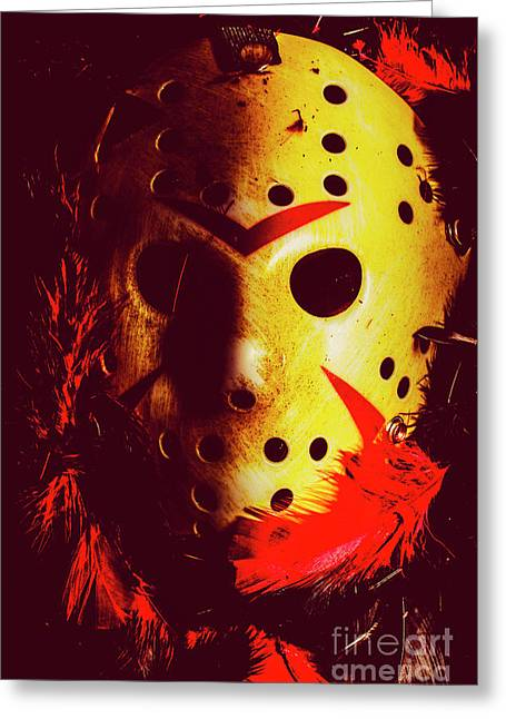A Cinematic Nightmare Greeting Card by Jorgo Photography - Wall Art Gallery