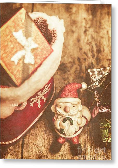 A Clause For A Merry Christmas  Greeting Card by Jorgo Photography - Wall Art Gallery