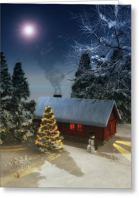 A Cold Winter Greeting Card