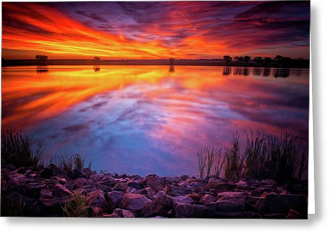 A Colorado Birthday Sunrise Greeting Card