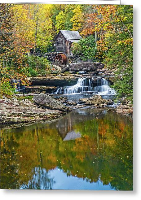 A Colorful Fall Day In Wva Greeting Card