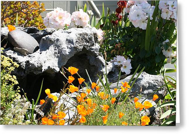 A Corner Of Peace Greeting Card by Wendi Curtis