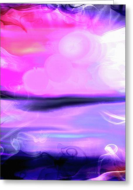 A Cosmic Moment Greeting Card