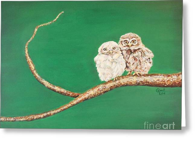 A Couple Of Owls Greeting Card