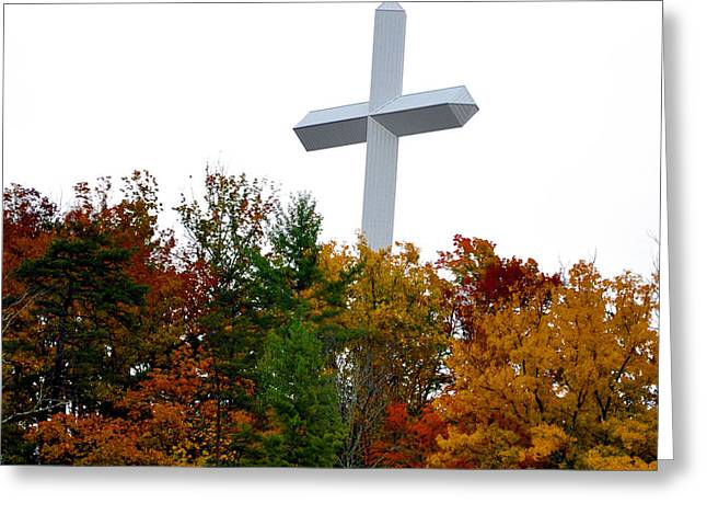 A Cross In Tennessee Greeting Card by Brittany H