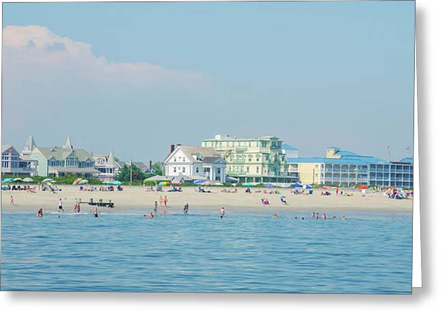A Day At The Beach - Cape May New Jesey Greeting Card