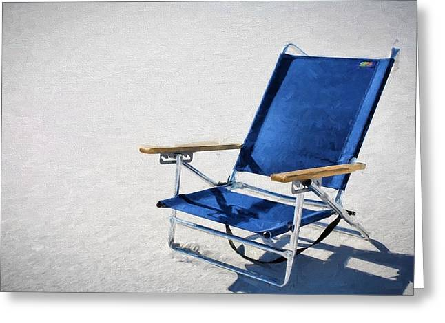A Day At The Beach In Destin Greeting Card by JC Findley