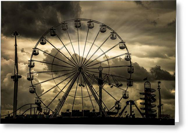 Greeting Card featuring the photograph A Day At The Fair by Chris Lord