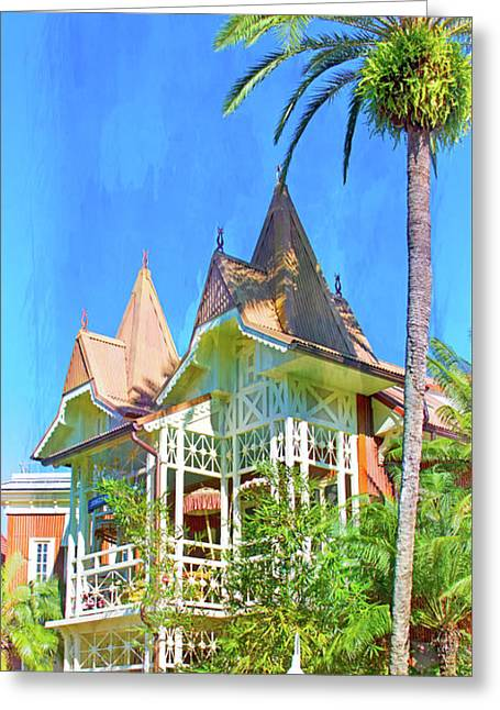 Greeting Card featuring the photograph A Day In Adventureland by Mark Andrew Thomas