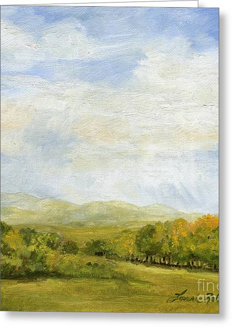 A Day In Autumn Greeting Card