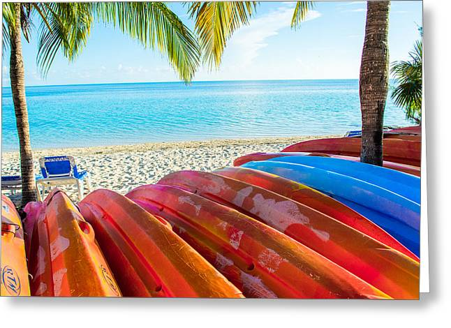 A Day In Paradise Greeting Card by Parker Cunningham