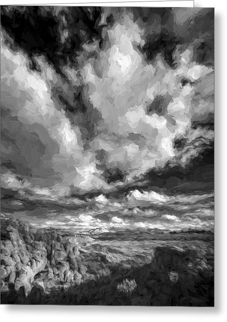 A Day With Clouds II Greeting Card