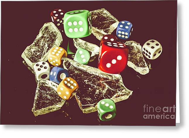 A Dealers Cut Greeting Card by Jorgo Photography - Wall Art Gallery