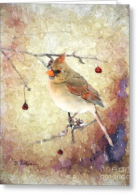 Greeting Card featuring the photograph A Delicate Thing by Betty LaRue