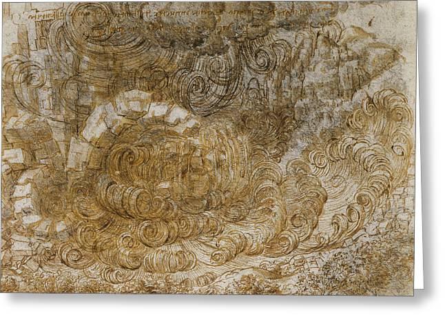 A Deluge Greeting Card by Leonardo da Vinci