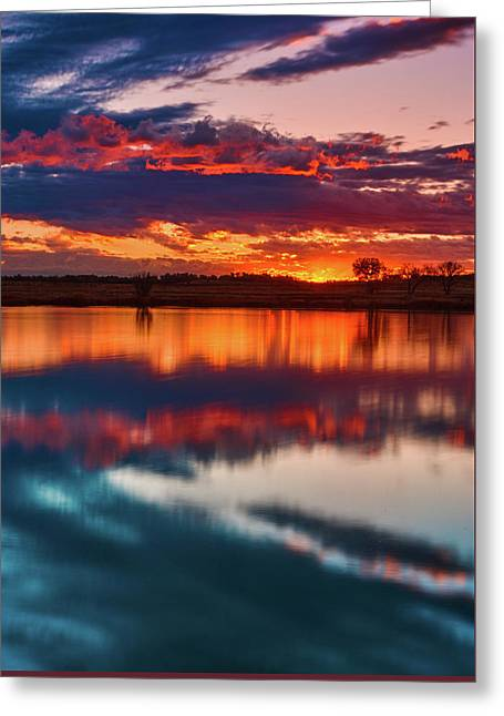 A Denver Dawn Greeting Card