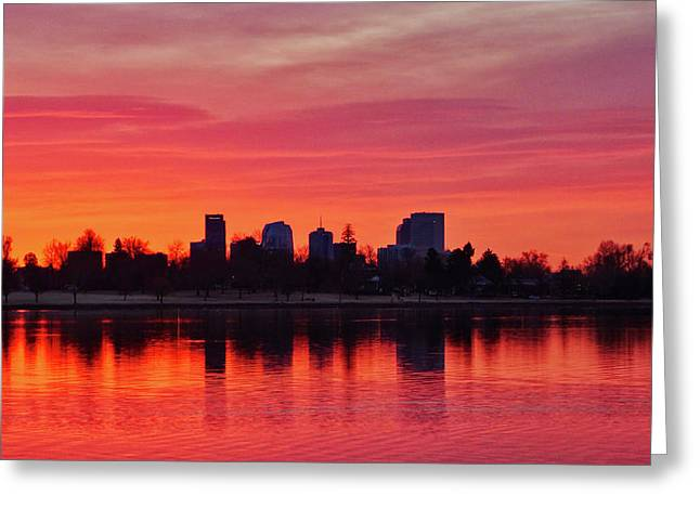 A Denver Morning Greeting Card