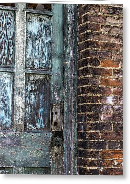 A Door In The Alley Greeting Card by William Sturgell