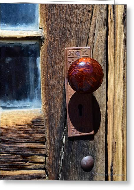A Door To The Past Greeting Card