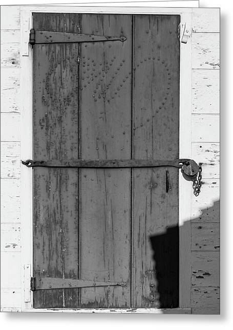 A Door With Character Greeting Card by Teresa Mucha
