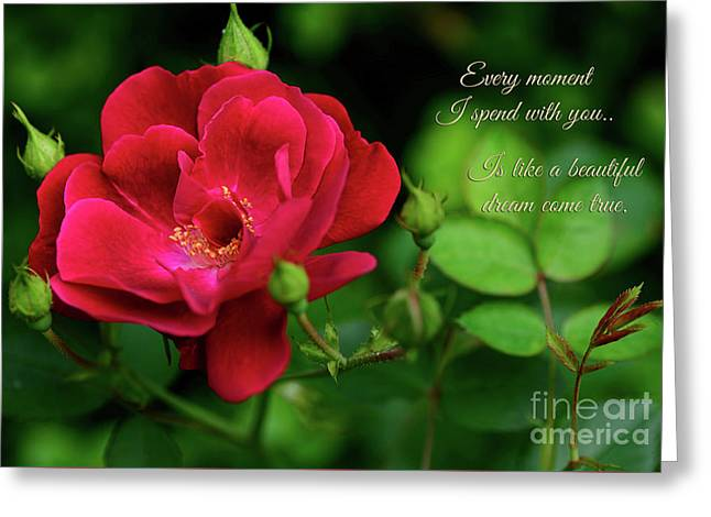 A Dream Come True By Kaye Menner Greeting Card by Kaye Menner