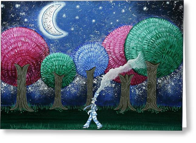 A Dream In The Forest Greeting Card