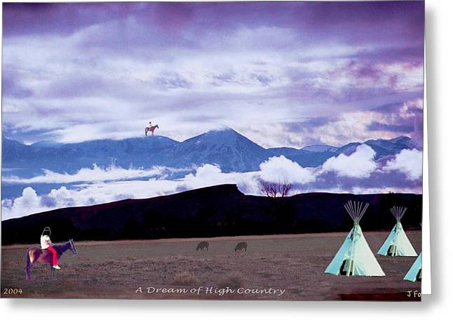 A Dream Of High Country Greeting Card
