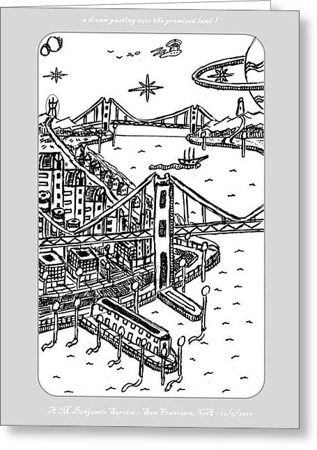 A Dream Over Paradise Greeting Card by Anthony Benjamin