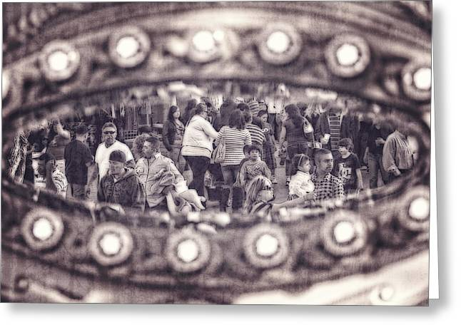 Greeting Card featuring the photograph A Fair Day by Caitlyn  Grasso