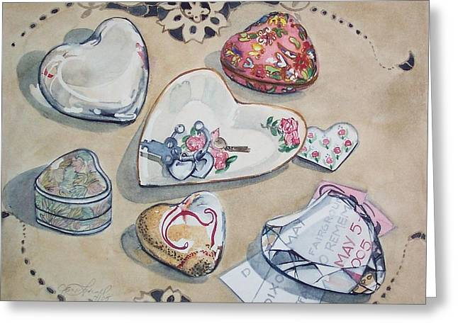 A Fair Of Hearts Greeting Card