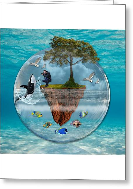 A Fantastical Journey Greeting Card