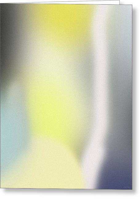 A Fleeting Glimpse 1- Art By Linda Woods Greeting Card