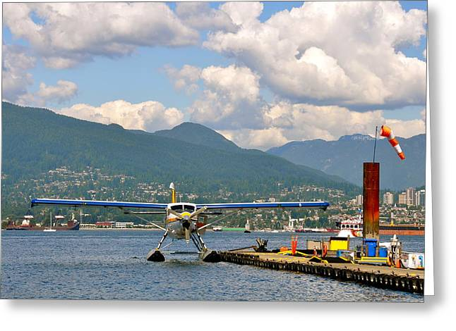 A Float Plane Greeting Card