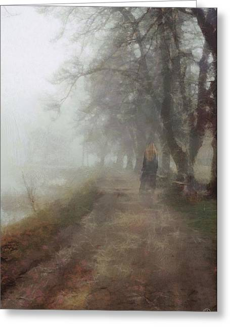 A Foggy Day Greeting Card by Gun Legler