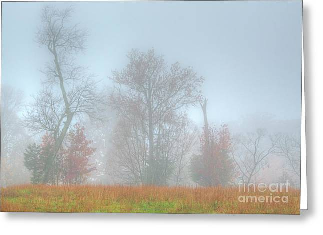 A Foggy Morning Greeting Card