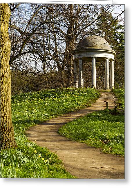 A Folly In Kew Greeting Card by David French