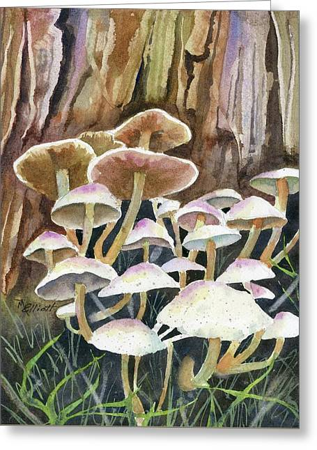 A Fungus Amongus Greeting Card