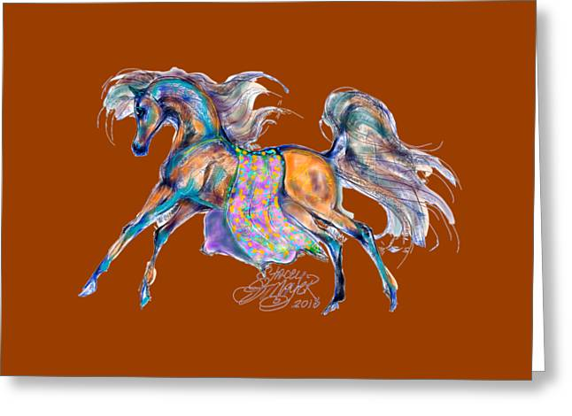 A Gift For Zeina Greeting Card by Stacey Mayer