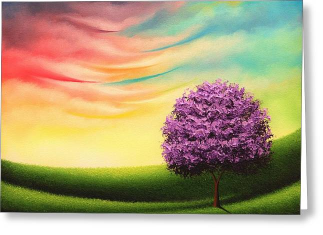 A Glimpse Of Glory Greeting Card by Rachel Bingaman