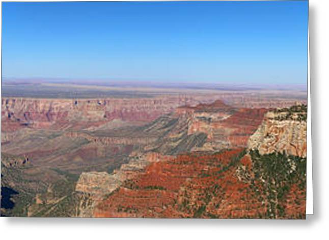 A Gorgerous Grand Canyon View Greeting Card by Christiane Schulze Art And Photography