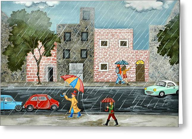 A Great Rainy Day Greeting Card