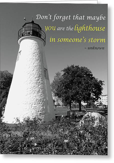 A Guiding Light Greeting Card
