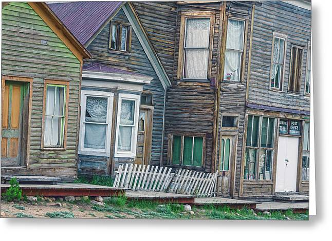 A Haimish Abode From A Bygone Era Greeting Card