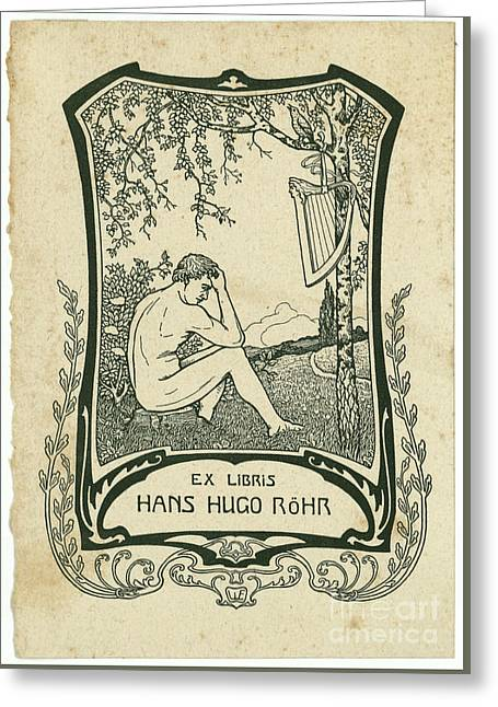 a Hans Hugo Rohr, Greeting Card
